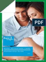 Bupa Advantage Care Policy