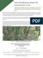 Public Consultation Leaflet A4 4