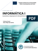 Manual de Informática I (Preview) - Artur Filipe Dos Santos - Edições Da Universidade Sénior Contemporânea