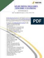 Thiết kế hệ thống nhận diện thương hiệu văn phòng - Nhan dien thuong hieu van phong