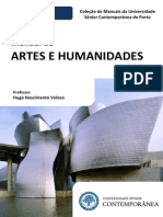 Manual de Artes e Humanidades I - Preview - Hugo Nascimento Veloso - Edições da Universidade Senior Contemporânea