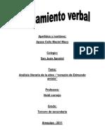 Analisis de La Obra Corazon Edmundo de Amicis