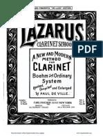 Lazarus Henry Method for Clarinet Part III