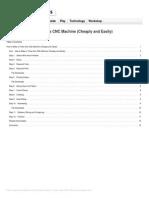 How to Make a Three Axis Cnc Machine Cheaply Kh