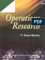 Operation Research Ram Murthy