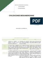 CIVILIZACIONES MESEOAMERCANAS