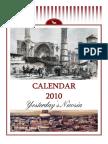 2010 Calendar - Yesterday's Nicosia (English)