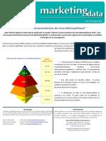 MKT Data NSE Lima 2012 Socioeconomico