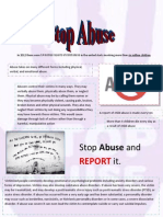 Abuse Flyer