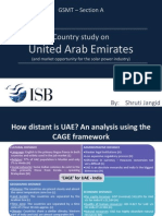The Solar market in UAE