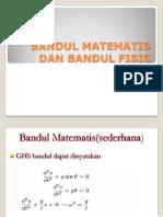 bandul matematis