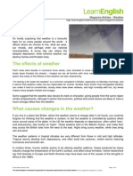 MagazineArticle Weather