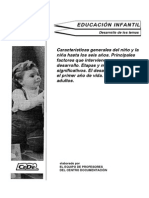 MUESTRA DE EDITORIAL DEL TEMA 1 DE EDUCACION INFANTIL