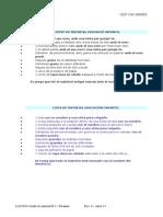 Llistat de Material E.I i Primària. Curs 2014-2015