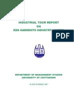 Tour Report KDS