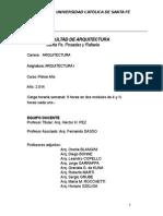 Programa Arq1 2014