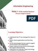 Information Engineering (Week 9)