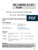 click here for education career  life goal plan assignment