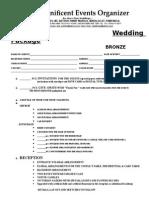 2012 Complete Wedding Package-bronze (1)