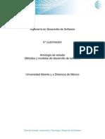 Unidad 3. Modelos Para El Desarrollo de Sistemas
