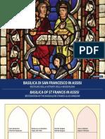 Restauro Della Vetrata Della Maddalena Nella Basilica Di San Francesco in Assisi