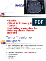 BRAIN TUMOR -Medical Surgical