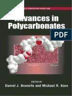 Advances in Polycarbonate