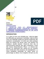 Isabelle Bruno, benchmarking, sones decouverte 2013
