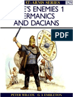 Peter Wilcox-Rome's Enemies (1)_ Germanics and Dacians (Men at Arms Series, 129)-Osprey Publishing (1982)