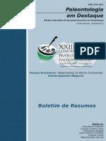 Boletim Paleontologia Em Destaque - Edição Especial - XXIII CBP (2013)
