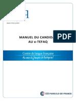 Manuel-candidat E-TEFAQ V0 10.2013