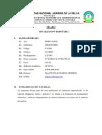 Silabo Fiscalizacion Tributaria II