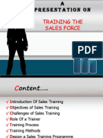 Training the sales force.ppt