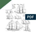 Tipos de Navios a Vela