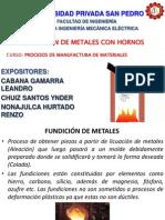FUNDICIÓN de Metales Con Hornos
