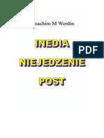 """""""Inedia, Niejedzenie, Post"""""""