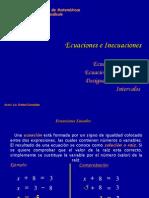 Precálculo (Ecuaciones e Inecuaciones)