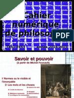 Cahier numérique de philosophie - La raison et le réel
