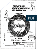 Cannon Weapons Systems and Ammunition Handbook USA 1983