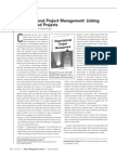 Organizational Project Management Linking Strategy and Projects