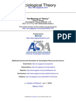 Sociological Theory 2008 Abend 173 99_Meaning of Theory