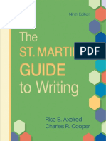 st martin guide to writing 9th edition pdf free download