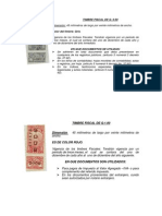 Timbres Notariales