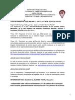 Guia Informativa Prestacion Servicio Social 2014