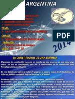 ADMINIST = LA CONSTITUCION DE LA EMPRESA (Grupo 1).pptx