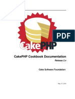 Cook Book CakePHP