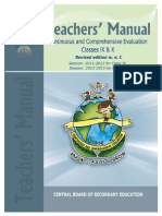 CBSE Assessment CCE_Manual