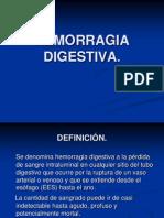 HEMORAGIA DIGESTIVA