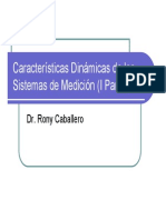 Dinámica de Los Sistemas de Medición