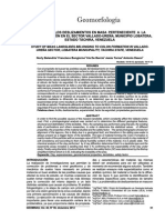 ESTUDIO DE LOS DESLIZAMIENTOS EN MASA PERTENECIENTE A LA FORMACIÓN COLÓN EN EL SECTOR VALLADO-UREÑA, MUNICIPIO LOBATERA, ESTADO TÁCHIRA, VENEZUELA